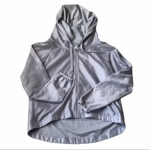 Champion Women's jacket Size Small hooded gray